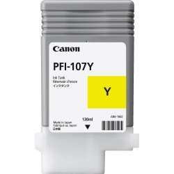 Canon PFI-107Y Yellow Ink Tank (130ml)