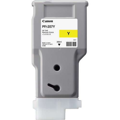 Canon PFI-207Y Yellow Ink Tank (300ml)