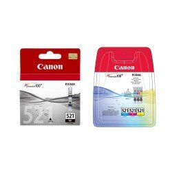 Canon CLI-521 CMYK Ink Cartridge Pack