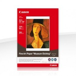 Canon Photo Paper Fine Art Museum Etching FA-ME1 A3 350gsm (20 sheets)