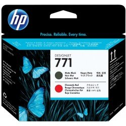 HP No.771 Matte Black / Chromatic Red Printhead