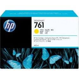 HP CM992A No.761 Yellow Ink Cartridge (400ml)