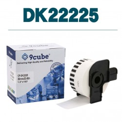 Compatible Brother DK22205 box and labels