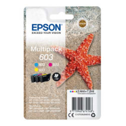 Epson 603 Ink Cartridge CMY Multipack C13T03U54010