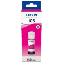 Epson 106 EcoTank Magenta Ink Cartridge (70ml) C13T00R340
