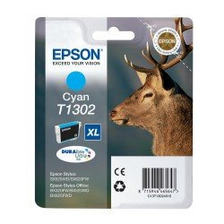 Epson T1302 High Yield Cyan Ink Cartridge (10.1ml)