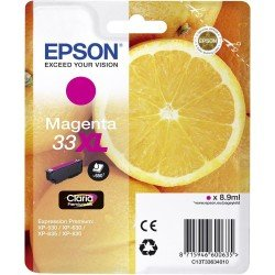 Epson T3363 High Yield 33XL Magenta Ink Cartridge (8.9ml) C13T33634010
