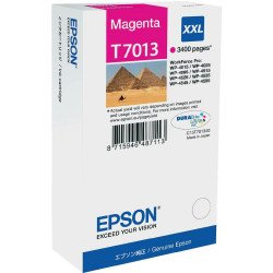 Epson C13T70134010 T7013 Extra High Yield Magenta Ink Cartridge (3,400 pages*)