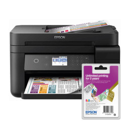 Epson EcoTank ET-3750 A4 Colour Multifunction Inkjet Printer (2 Year Unlimited Printing)