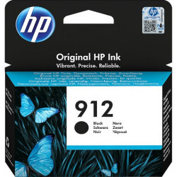 HP 912 Standard Black Ink Cartridge (300 Pages*) 3YL80AE