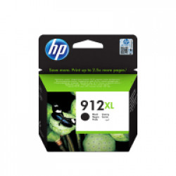 HP 912XL High Yield Black Ink Cartridge (825 Pages*)