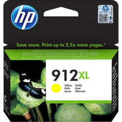 HP 912XL High Yield Yellow Ink Cartridge (825 Pages*) 3YL83AE