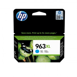 HP 963XL High Yield Cyan Ink Cartridge (1,600 Pages*) 3JA27AE