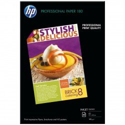 HP Professional Glossy Inkjet Paper  - A3 180g (50 sheets)