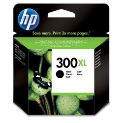 HP CC641EE#ABB No.300XL Black Ink Cartridge (600 pages*) CC641EE