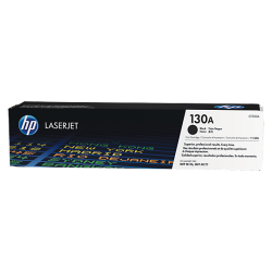 HP CF350A No.130A Black Toner Cartridge (1,300 pages*)