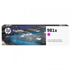 HP L0R10A 981X Magenta Ink Cartridge (10,000 Pages*)