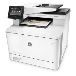 HP LaserJet Pro MFP M477FNW A4 Multifunction Colour Laser Printer side view