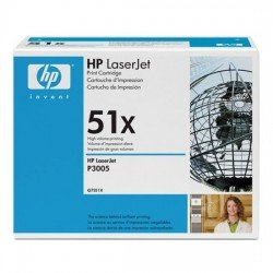 HP Q7551X Black Toner Cartridge (13,000 pages)