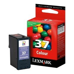 Lexmark No.37 Colour Ink Cartridge
