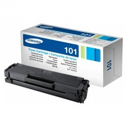 Samsung MLTD101S/ELS Black Toner Cartridge (1,500 pages*) MLT-D101S/ELS