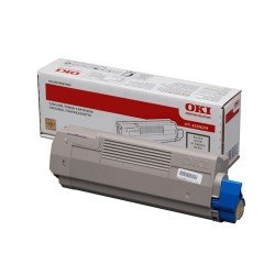 Oki 45396204 Black Toner Cartridge (15,000 pages*)