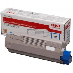 Oki Cyan High Yield Toner Cartridge (10,000 pages*) 46443103