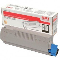 Oki 46508716 Black Toner Cartridge (1,500 Pages*)