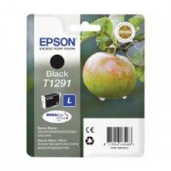 Epson T1291 Black Ink Cartridge (11.2ml) C13T12914010