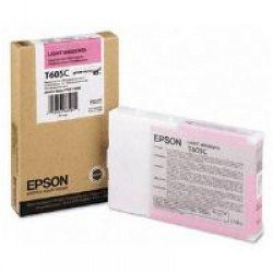 Epson T605C Light Magenta Ink Cartridge (110ml) C13T605C00