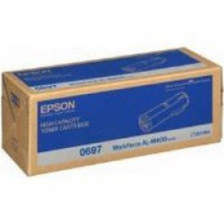 Epson C13S050697 High Yield Black Toner Cartridge (23,700 pages*)