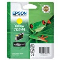 Epson T0544 Yellow Ink Cartridge (13ml)