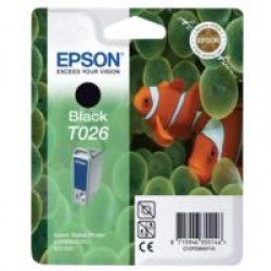 Epson T026 Black Ink Cartridge (16ml)