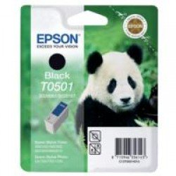 Epson T0501 Black Ink Cartridge (15ml) C13T05014010