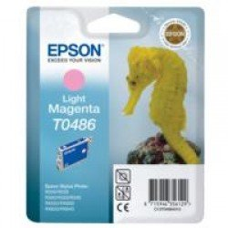 Epson T0486 Light Magenta Ink Cartridge (13ml) C13T04864010