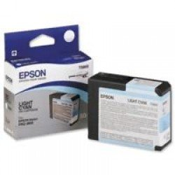 Epson T5805 Light Cyan Ink Cartridge (80ml) C13T580500