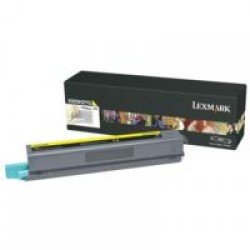 Lexmark X925H2YG High Yield Yellow Toner Cartridge (7,500 pages*)