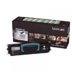 Lexmark E250A11E Black Return Program Toner (3,500 pages*) 0E250A11E