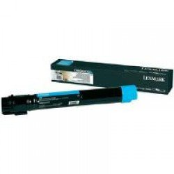 Lexmark Extra High Yield Cyan Toner Cartridge (24,000 pages*)
