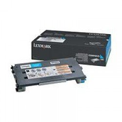 Lexmark High Yield Cyan Toner Cartridge (3,000 pages*)