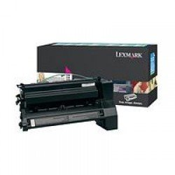 Lexmark C780H1MG High Yield Magenta Return Program Print Cartridge (10,000 pages*) 0C780H1MG