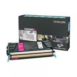 Lexmark C5220MS Magenta Return Program Toner (3,000 pages*) 00C5220MS
