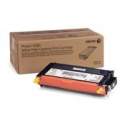 Xerox 106R01394 High Yield Yellow Toner (5,900 pages*)