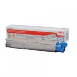 Oki High Yield Cyan Toner Cartridge (2,500 pages*)