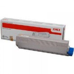 Oki 44844505 Yellow Toner Cartridge (10,000 pages*)