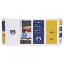 HP C4963A No.83 UV Yellow Printhead/Cleaner Cartridge