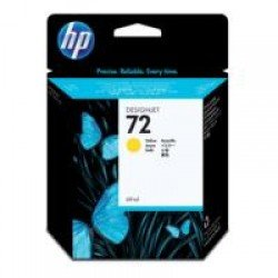 HP No.72 Yellow Ink Cartridge (69ml)