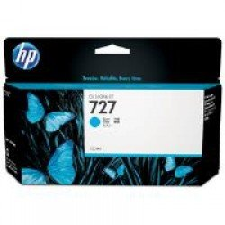 HP B3P19A No.727 Cyan Ink Cartridge (130ml)
