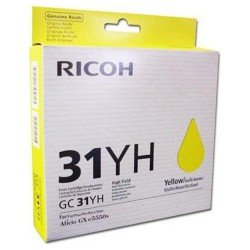 Ricoh Yellow Gel - High Yield GC 31YH (4,000 prints*)