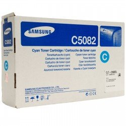 Samsung CLT-C5082L Cyan High Yield Toner Cartridge (4,000 pages*) CLT-C5082L/ELS